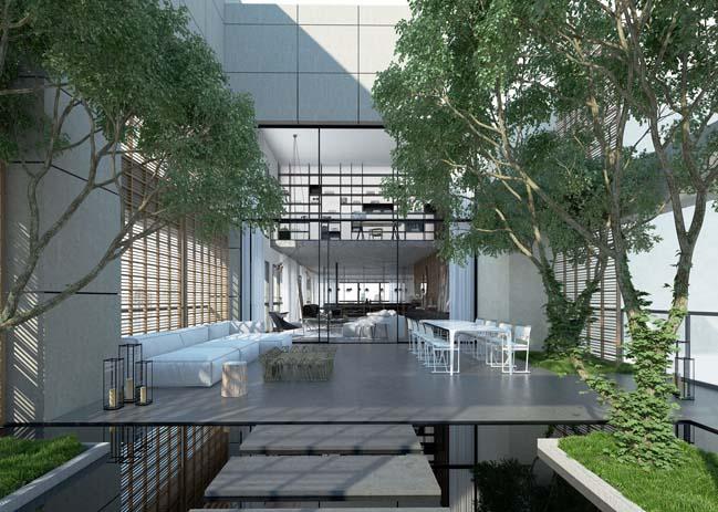 Luxury penthouse in Tel Aviv, Israel