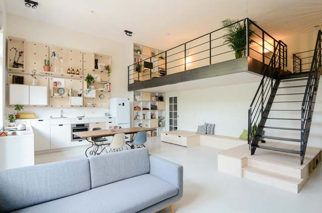 Superb Ons Dorp: Apartment Renovation By Standard Studio Design Inspirations