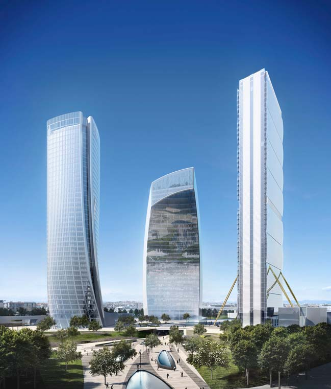 Central Tower C: Futuristic tower in Italy