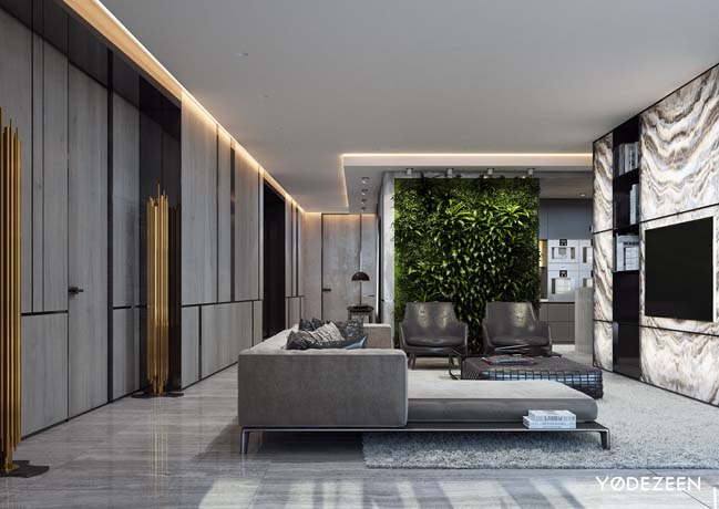 Luxury apartment in miami for Luxury minimalist house