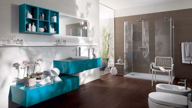 Font Modern Bathroom Designs From Scavolini