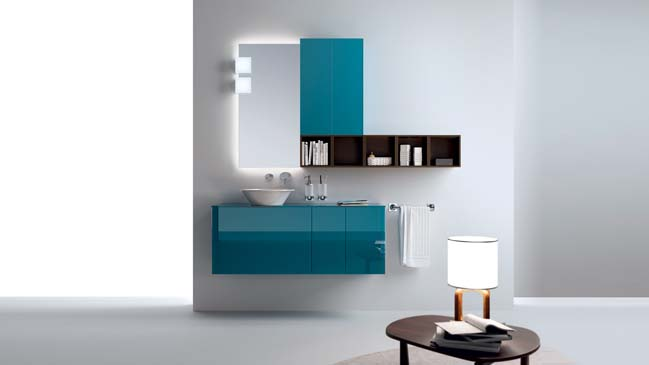 Font: Modern bathroom designs from Scavolini