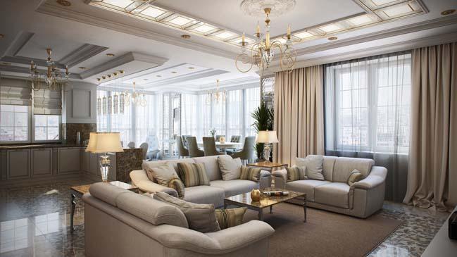 luxury penthouse apartment by maximillion design