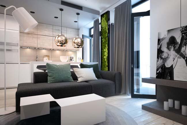 Tiny apartment by yana osipenko