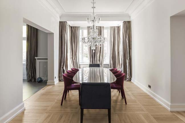 Luxury apartment interior design by CAMA A