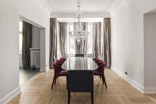 Luxury apartment interior design by CAMA A