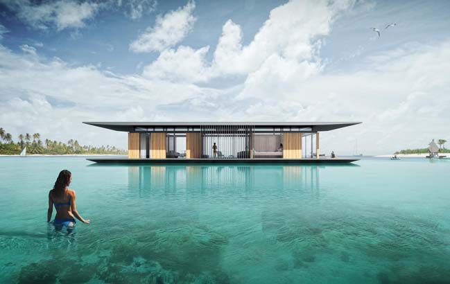 The Floating Boat House by Dymitr Malcew