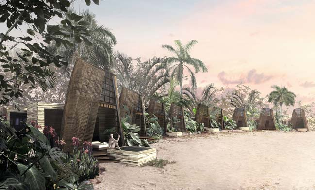 Isla Pasión: Luxury hotel inspired Mayan architecture