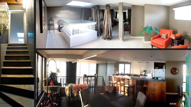 Renovate a dark apartment into light and cozy house