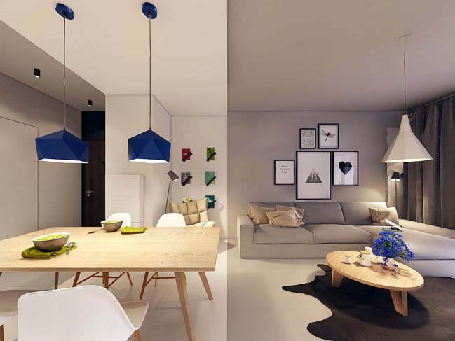 Modern apartment design