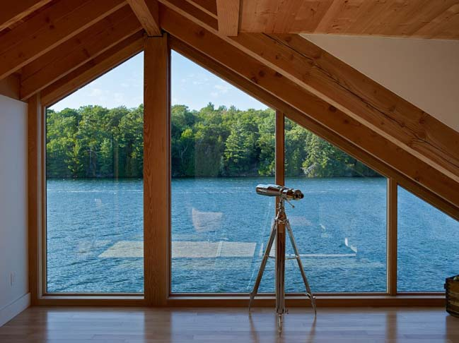 Lake Joseph Boathouse by Altius Architecture