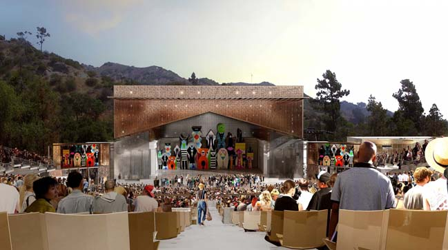 Greek Theater renovation by SPF:a