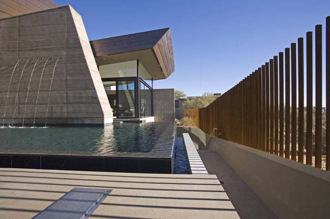 Desert contemporary house design in arizona usa - Villa decor desert o architecture ...