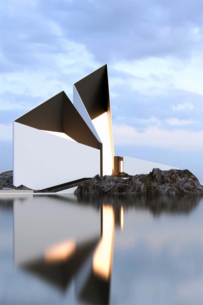 Futuristic homes design concepts by roman vlasov for Contemporary architecture design concept
