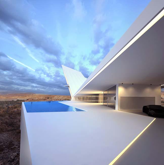 Futuristic Home Design Ideas: Futuristic Homes Design Concepts By Roman Vlasov