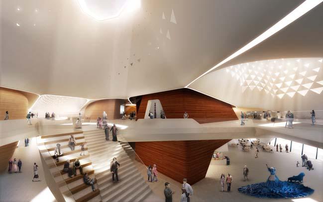 Grand Musée de l'Afrique by UNStudio