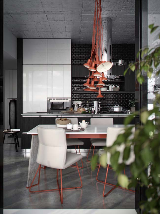 Modern kitchen design by Nikola Arsov