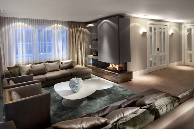 Luxurious home design by Kolenik Eco Chic Design