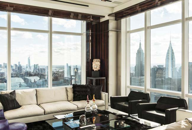 Transform 3 apartments into a luxury penthouse in NYC