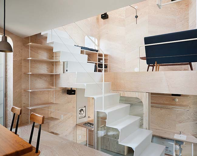 Optimize space for a small townhouse in Japanese style