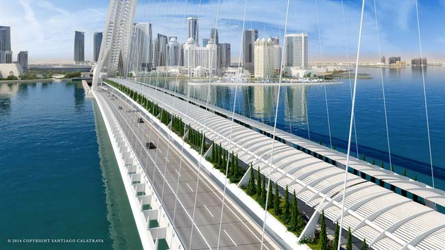The Sharq Crossing by Santiago Calatrava