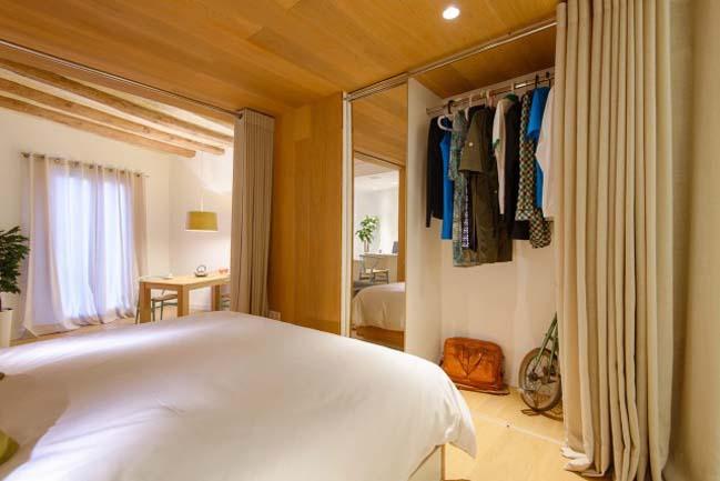 Cozy interior design for small apartment 48m2