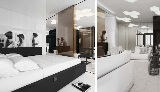 Modern interior... 1 Bedroom Apartment Interior Design