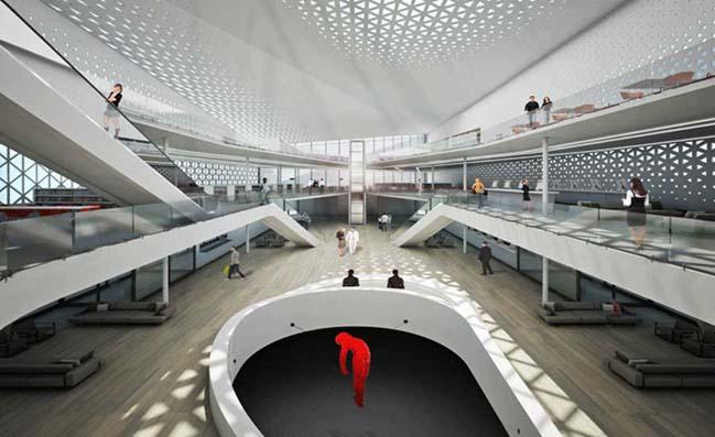 Helsinki Central Library by Jorge Hernandez de La Garza