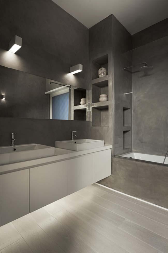 White apartment design by Carola Vannini Architecture