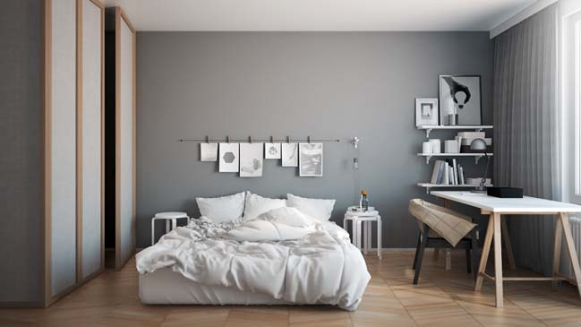 Image gallery modern interiors ideas for Modern bedroom ideas