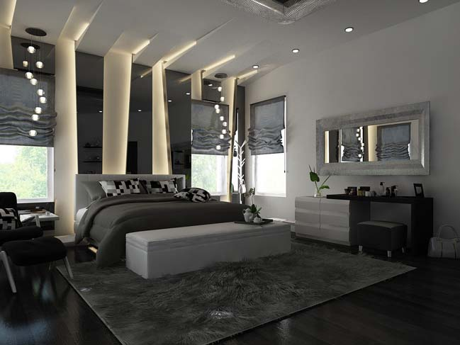 30 great modern bedroom design ideas update 08 2017. Black Bedroom Furniture Sets. Home Design Ideas