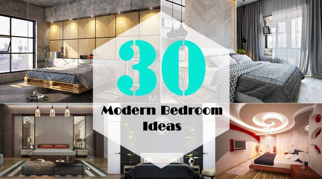 30 great modern bedroom design ideas update 082017 - Modern Design Ideas