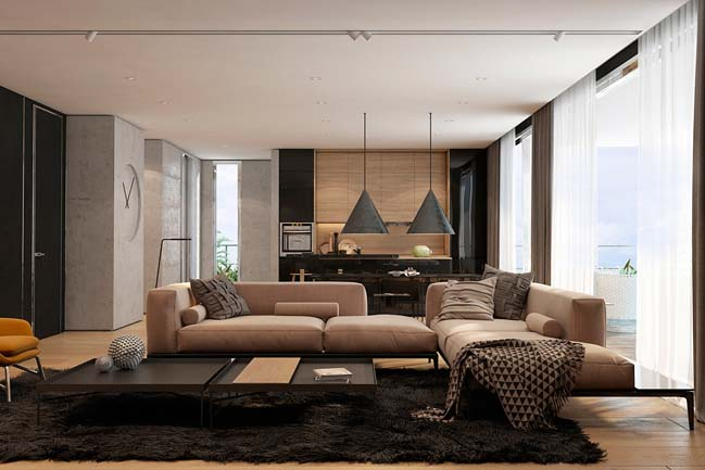 Living Room Decor For Apartments stunning apartment living room contemporary - home design ideas