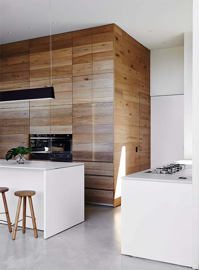 Victorian house renovation by Robson Rak Architects