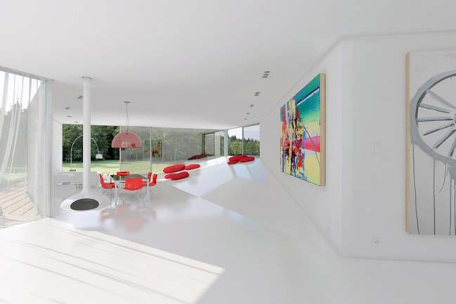 Fold Up House by Dan Brunn Architecture