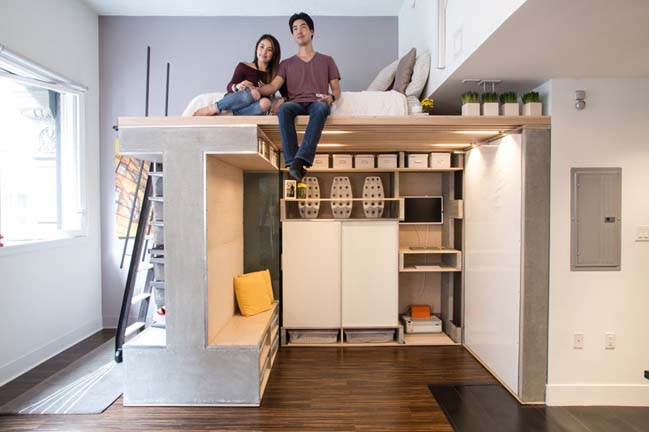 Transform a small condo into a dynamic space