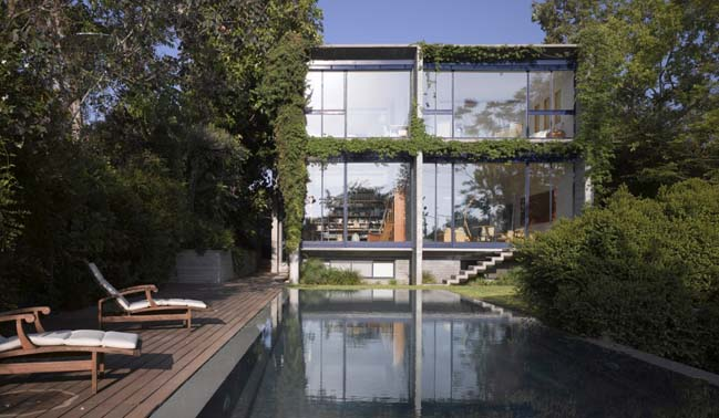 concrete and glass house by gsarch - Concrete House 2016