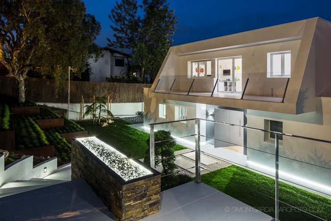 Luxury Mediterranean house with 21st century technologies