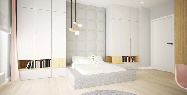 4 bedrooms apartment renovation by Dragon Art