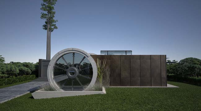 Concrete Tube House by RB+P