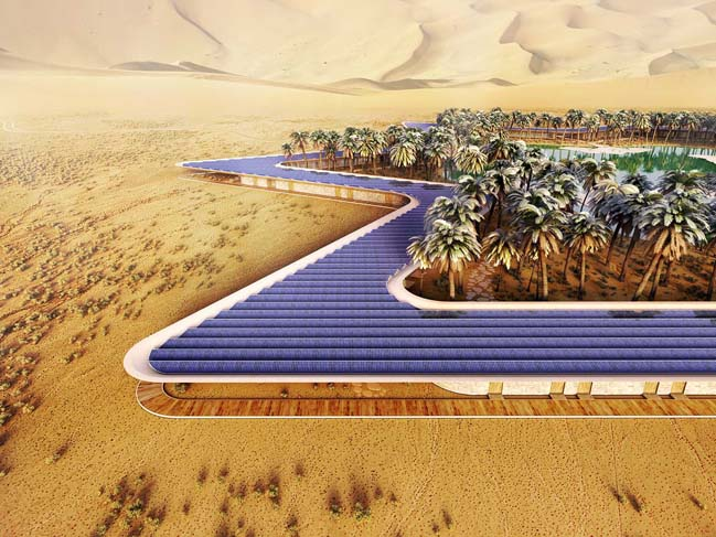 The World's greenest resort by Baharash Architecture