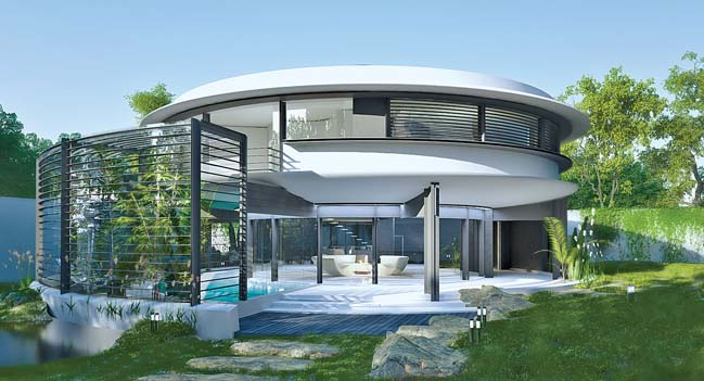 Circle House by Razvan Barsan + Partners
