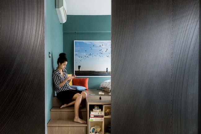 Million dollar small apartment 400 sqft by LAAB