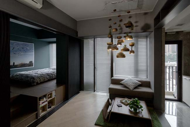 Million dollar small apartment 400 sqft by laab for Apartment design hk