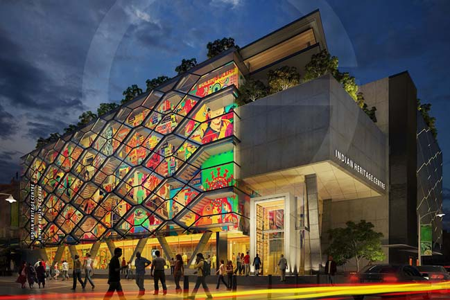 The first Indian Heritage Centre in Singapore
