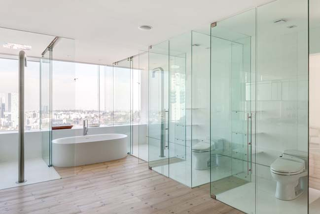 Luxury penthouse without partition walls by Archetonic