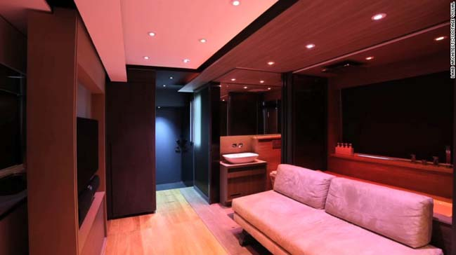 309 sqft small apartment by LAAB Architects
