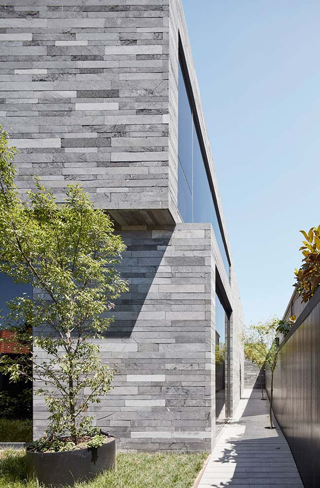 Lava stone house by b.e architecture