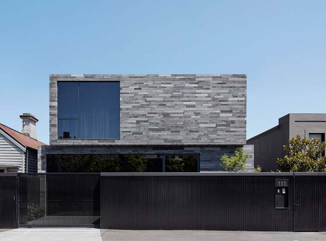 Lava stone house by b.e architecture