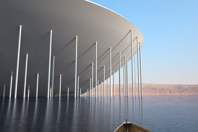 Yarauvi: A necropolis in the Dead Sea by Miró Rivera Architects